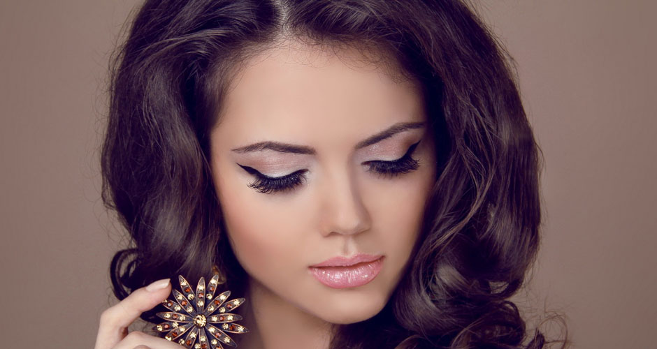 Красивый стильный макияж фото